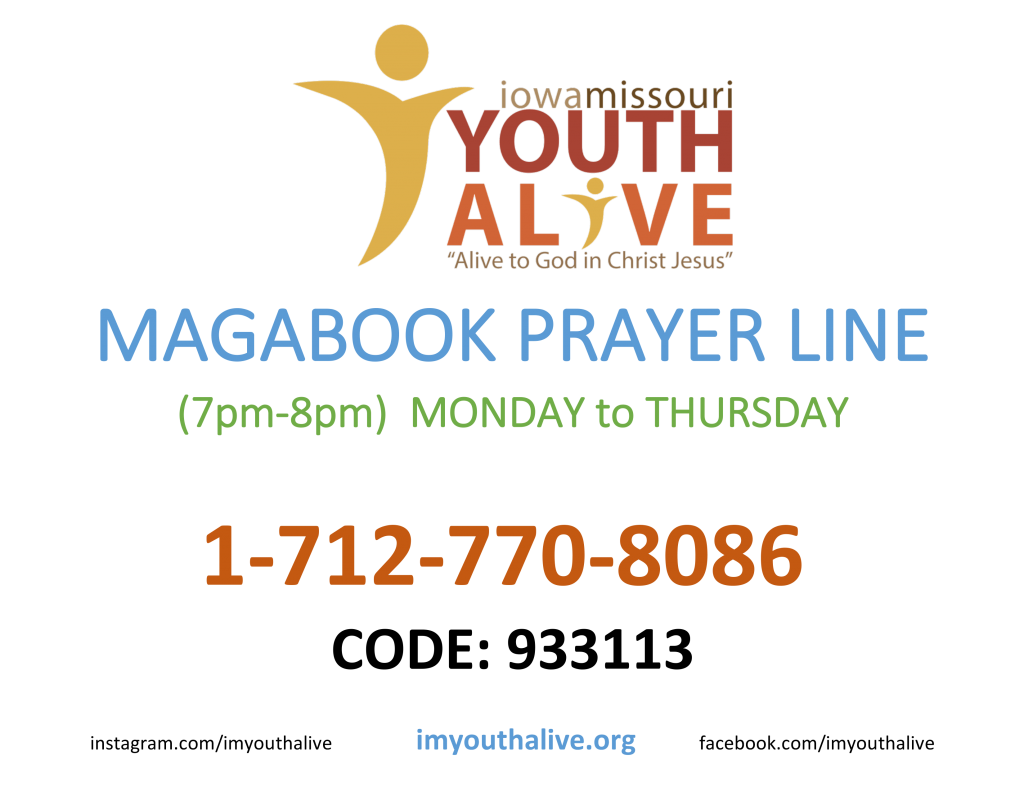 Come together for an hour of prayer over your young people as they take the Word door-to-door. Get an update on the day\u0027s victories and ask for an ...  sc 1 st  Iowa-Missouri Conference & Magabook Program \u2013 Iowa-Missouri Conference of Seventh-day Adventists