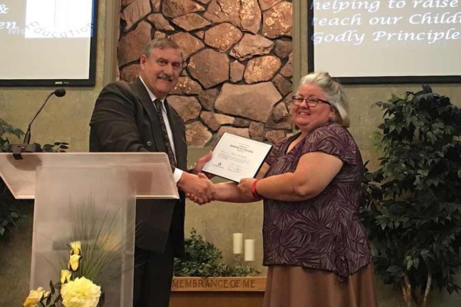 Mary Mcdowell Receives Commissioned Ministry Of Teaching Credential